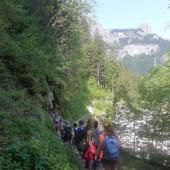 Wanderung Aaschlucht